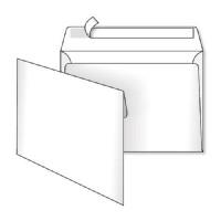 Конверт С5 (162*229) скл. білий