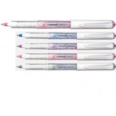 Ручка роллер, 0,6мм. UNI Mitsubishi Pencil (Япония) Роллер uni-ball FUSION  UB-161, чорнила лаванда