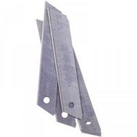 Леза змінні для канц. ножів 18мм. BM4691 блістер -упаковка (10 лез у пачці)