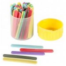 Набір паличок для рахунку різнокольорові 60 шт в тубі пластиковій E32217
