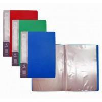 Дисплей-книга А3 пластикова на 20 файлів колір чорний