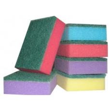 Губка кухонна Esto в упаковці 5 шт 95*60*30мм колір асорті AM4977