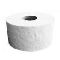 Туалетний папір макулатурний  на гільзі d18см одношаровий 120м джамбо з пер. КОХАВИНКА
