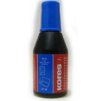 Фарба штемпельна KORES 27 мл, синя K71308