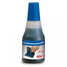 Фарба штемпельна COLOP 25 мл, синя  801