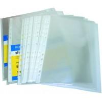 Файл А5+ глянц 0,30 мкм 100 шт в пакфактура помаранч E31104-50