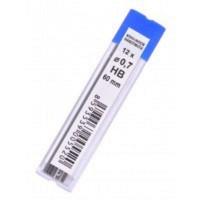 Стрижень 0,7мм. HB до механічного карандашу K-I-N 4162/HB(12шт/уп.)