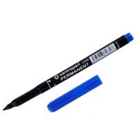 Маркер перманентний  1мм Centropen 2536 на спирт основі пише синім