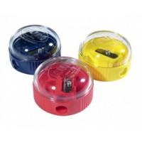 Чинка пластикова кругла з контейнером KUM 210К