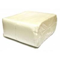 Серветки паперові  24*24см в упаковці 500 шт колір білий