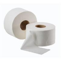 Туалетний папір Lux на гільзі 2-шаровий d-19 джамбо білий