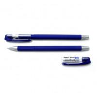 Ручка гелева, 0,5мм. Axent Forum AG1006-A,  корпус прогумований, чорнила сині