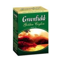Чай чорний розсипний 100 грам Грінфілд золотой цейлон