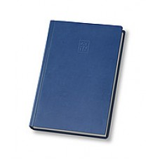 Щоденник не  датований А5  ostrich О25414-02, кремовий блок,  синій