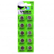 Батарейка Videx AG13 (LR44) (для годинників,калькуляторів)