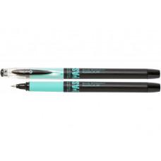 Ручка гелева, 0,5мм. OPTIMA STUDY. чорна синій грип