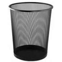 Корзина (кошик) для мусора металева сітчата BM 6270-01 колір чорний  295*295*345мм