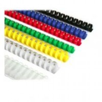 Пружини пластикові d12мм 100 шт(80 листів) ,колір синій 0503-02