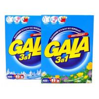 Пральний порошок Gala ( гала ) ручне прання  3в1 Французький аромат 400г