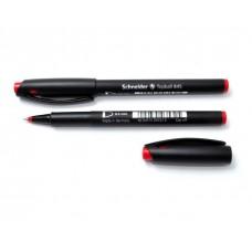 Ручка ролер 0,3мм.Schneider Topball 845 , чорнила ЧЕРВОНІ