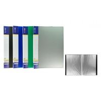 Дисплей-книга А4 пластикова на 20 файлів E30602, колір асорті
