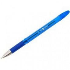 Ручка кулькова, масляна, 0,5мм. Oil pro O15616-02, з гумовим грипом,  чорнила сині