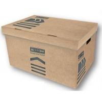 Бокс (короб) для архіваціі документів , крафт картоний розмір 560*380*265 мм BM3270-34