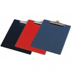 Кліпборд  з верхнім кліпом; пластик А4; BM 3411-03 PVC червоний