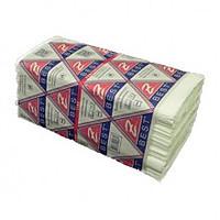 Рушник паперовий 2-х шаровий V-складання,білий, 150 аркушів Z-Best целюлозний