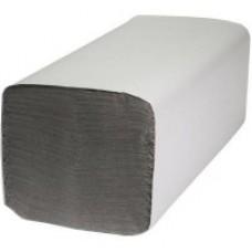 Рушник паперовий 1-шаровий макулатурний сірий V-складання 160 аркушів 23*25см Z-Best