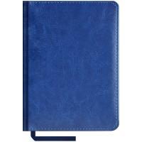 Щоденник НЕ  датований А5 176 аркушів SARIF 3B-70 145*203 кремовий блок, синій (аквамарин)