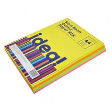 Папір кольоровий  А4 набір BM 2721250 -99 80г пастель 50 арк. 5*10