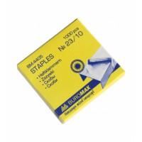 Скоби канцелярські №23/10  ВМ4405 в картонній упаковці 1000шт