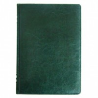 Щоденник НЕ  датований А5 176 аркушів SARIF 3B-70 145*203 кремовий блок, зелений