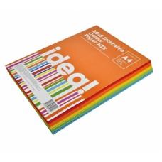 Папір кольоровий  А4 набір IDEA! 80 г/м 250л  50*5 Intensive Colour MIX