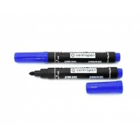 Маркер перманентний 2-4 мм Centropen 8566 пулевідний, пише синім