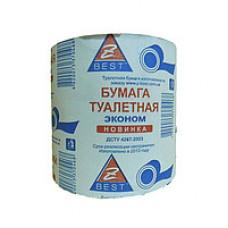 Туалетний папір 1-шарова макулатурний Z-Best однослойний 65м в рулоні (24 в упаковці))