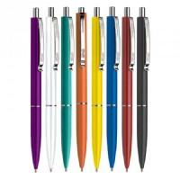 Ручка кулькова, 0,7мм. автоматична , Sсhneider К15,  корпус синій, чорнила сині