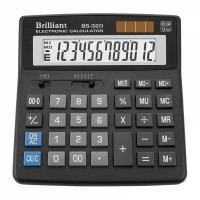 Калькулятор BRILLIANT 12р 155*155*15ММ BS-320