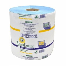 Рушник паперовий 1-х шаровий, 1шт 150м Кохавинка рулон СИНІЙ