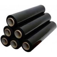 Стретч-плівка полімерна 20 мк. 1,4кг.  чорна