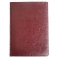 Щоденник НЕ  датований А5 176 аркушів SARIF 3B-70 145*203 кремовий блок, червоно-коричневий