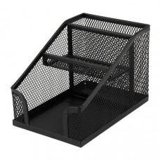 Підставка-органайзер металева сітка чорна 100 * 143 * 100мм Axent 2118-01