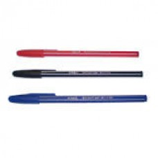 Ручка кулькова, масляна, 0,7мм. AIHAO/RADDAR 555, чорнила червоні