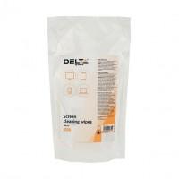Серветки вологі для пластикових поверхонь (запасний блок) Delta Refill TFT/PDA/LCD 100шт D5312