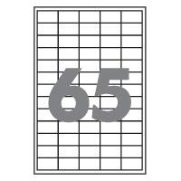 Етикетка самоклейна А4/65, 100арк. 38,1*21.2мм