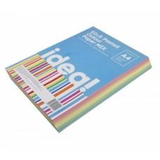Папір кольоровий  А4 набір IDEA! 80 г/м 250л  50х5 Pastell Colour MIX