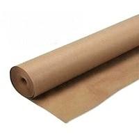 Папір рулонний крафт 70г/м.кв. 1 метр ширина,  коричневий колір, пакувальний, 5 кг.