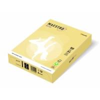 Папір кольоровий А4 160 г/м 250л Maestro Color Pastell YE23 Yellow  жовтий