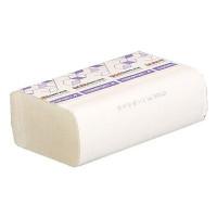 Рушник паперовий 2-шаровий целлюлозний Comfort eco білі ZZ 200 аркушів 21.6*24см PRO( вузькі)